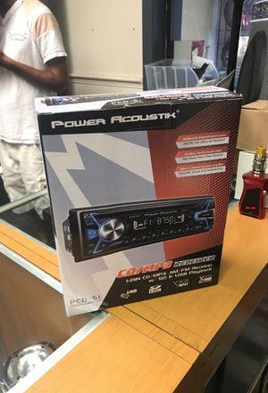 Power acoustik cd receiver for Sale in Orlando, FL