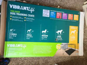 Two Door Dog Training Crate for Sale in Charlotte,  NC