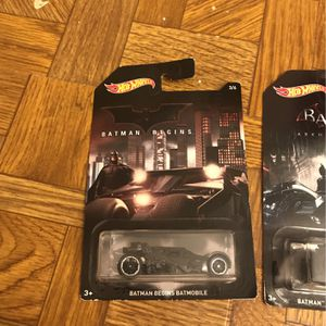 Batman Cars And Figure for Sale in Indianapolis, IN