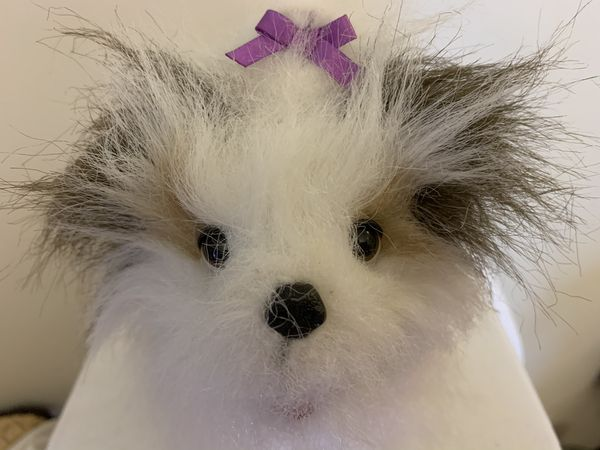FurReal Friends Realistic Interactive 10'' Terrier Puppy Dog Toy 2008 Hasbro