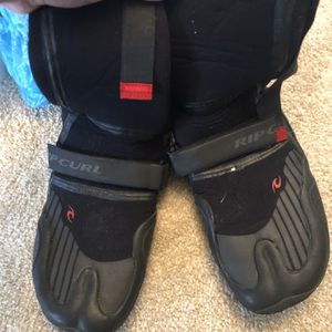 Size 11 Surf Boots (Ripcurl Wetsuit Booties) for Sale in Virginia Beach, VA