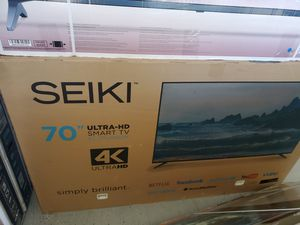 "SC70UK853N 70"" SEIKI LED 4K UHD SMART for Sale in City of Industry, CA"