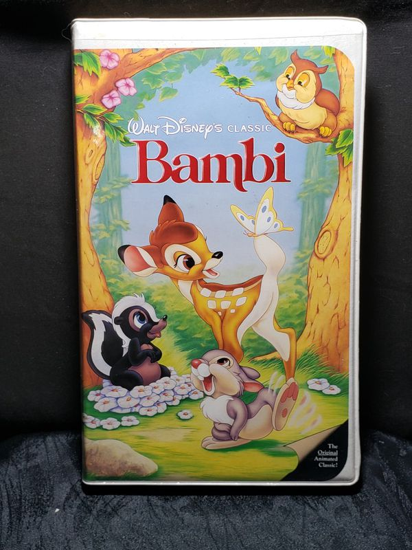 Walt Disney Classic Bambi Vhs