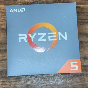 AMD Ryzen 5 1600 6-Core 3.2 GHz AM4 Cpu Processor for Sale in Moreno Valley, CA