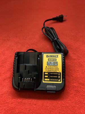 DeWalt DCB112 12v/20v Lithium Ion Charger for Sale in Fresno, CA