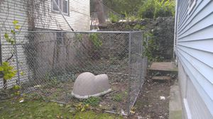 Dog kennel with dog house for Sale in Randolph, MA