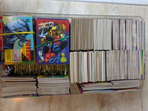 Trading cards from the 80s and 90s, superheroes and sports for Sale in Arlington Heights, IL
