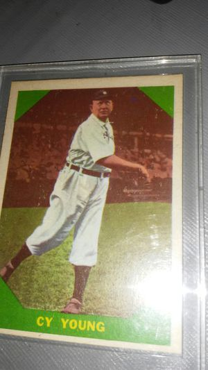 Cy Young 1950's FLEER BASEBALL CARD for Sale in Arcadia, CA