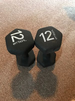 NEOPRENE 12 POUNDS WEIGHTS DUMBELL for Sale in Marysville, WA