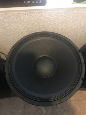 "Pro audio 15"" subwoofers 2500 watts and 18"" 3500 watts for Sale in Henderson, NV"