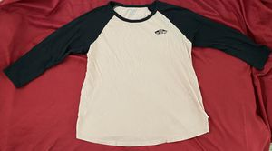 Peach + Black Vans Women's Baseball Tee for Sale in Rancho Cucamonga, CA