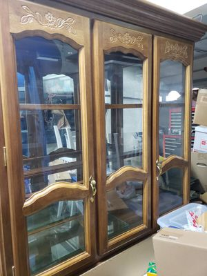 China cabinet w/base for Sale in Tracy, CA