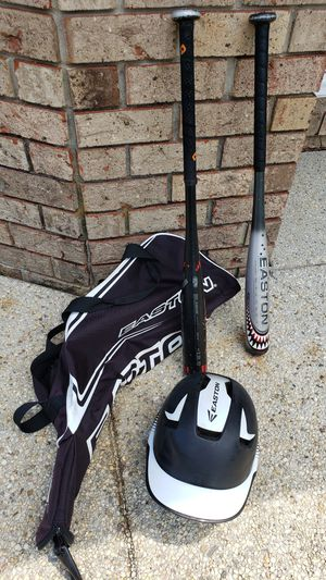 Little League Baseball bag, bats and helmet for Sale in Woodbine, MD