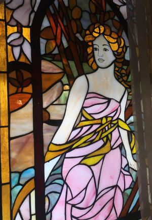 Antique glass art for Sale in Pasadena, CA