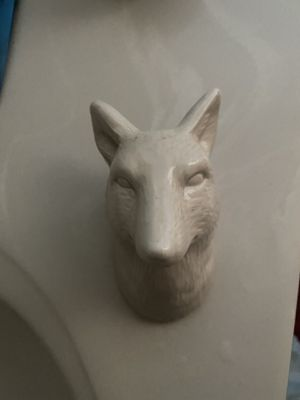 Wolf decoration for Sale in DeKalb, IL