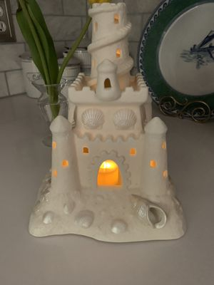 Party lite sandcastle candle holder for Sale in Alexandria, VA