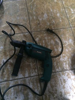 Makita Hammer Drill 1/2 for Sale in Fort Lauderdale, FL