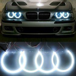 Headlight White CCFL Angel Eye Halo Rings Kit For BMW E39 E46 3 5 Series for Sale in Fullerton,  CA