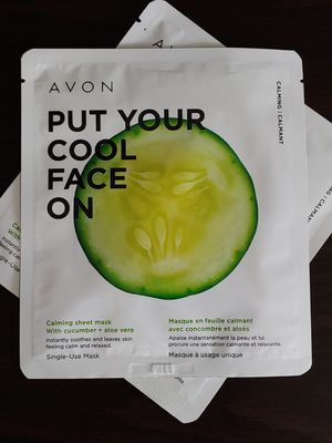 Avon Put Your Cool Face On Calming Sheet Mask for Sale in Cypress, CA