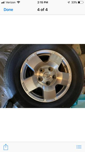 Toyota tires and rims for Sale in Chandler, AZ