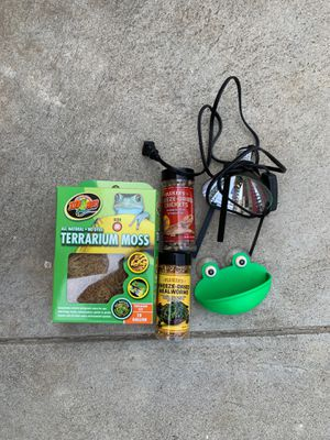 Frog Food and Supplies for Sale in Pasadena, CA
