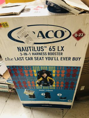 Graco nautilus 3-1 car seat for Sale in Las Vegas, NV