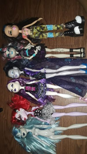 Monster high dolls for Sale in Wilmington, CA