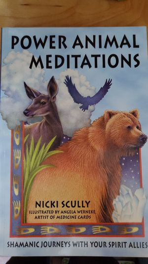 Power animal meditation book for Sale in Westminster, CO