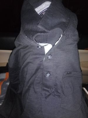 Michael Kors Short Sleeve Polo Shirt Black for Sale in Seattle, WA