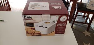 Elite digital bread maker for Sale in Browns Mills, NJ