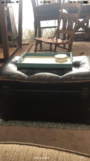 Black Ottoman for Sale in Lewisburg, TN