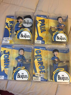 McFarlane toys. All 4 Beatles figures. for Sale in Toms River, NJ