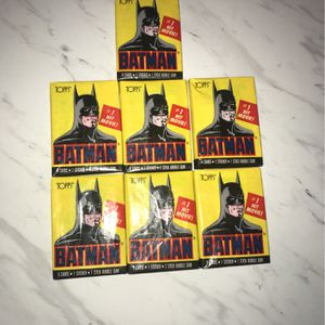Vintage Batman Movie Trading Cards for Sale in Upland, CA