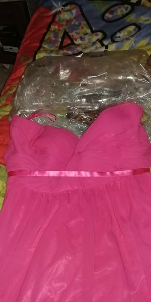 Its a hot pink bridesmaid dress for Sale in Wichita, KS