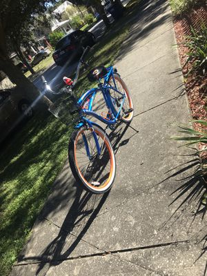 Orange and Blue bicycle for Sale in Tampa, FL