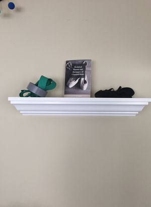 White wall shelves with cleat mounting 3 available ($25 EACH) for Sale in Fort Lauderdale, FL