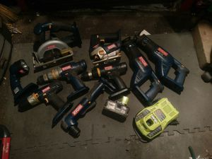 Ryobi 9 tool set for Sale in Blaine, MN