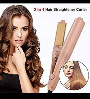 NEW!! 2 in 1 Hair straightener curler with ionic technology... $50 for Sale in Nashville, TN