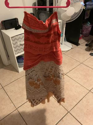 Halloween costume Moana for Sale in Kissimmee, FL