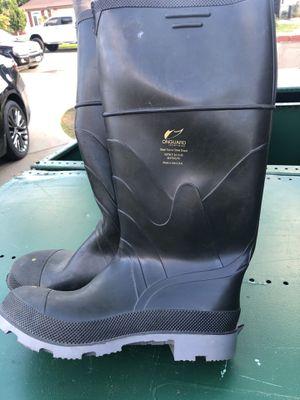 Steel toe rain boots size 11 for Sale in Escondido, CA