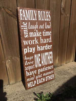 Family rules for Sale in Carrollton, TX
