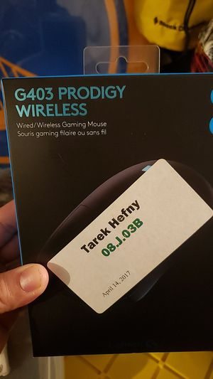 G403 PRODIGY WIRELESS GAMING MOUSE for Sale in Renton, WA
