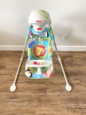 Fisher Price Baby Swing (Plugs In, no batteries) for Sale in Gilbert, AZ