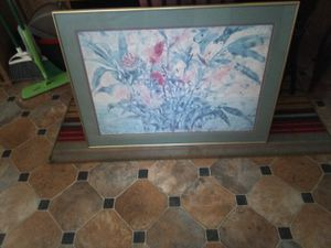 Pictures and a wooden kitchen table for Sale in Riverview, FL