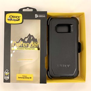 OTB Samsung S8 OtterBox Defender Case Cover. Belt Clip & Holster. Black Color. for Sale in Norco, CA