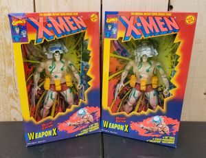 "($20 EACH) NEW 1O"" DELUXE EDITION MARVEL X-MEN WEAPON X ACTION FIGURE for Sale in Stockton, CA"
