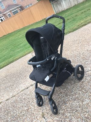 Peg perego book plus stroller with foot muff for Sale in Virginia Beach, VA