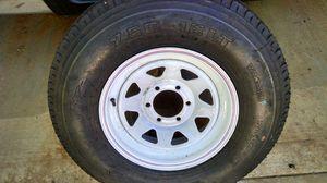 750x16 trailer tire & wheel for Sale in Henderson, TX