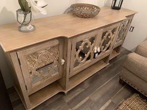 Brand New Solid Wood Sideboard Console Table for Sale in Virginia Beach, VA