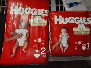 Huggies size 1 Nd 2 for Sale in Mesquite, TX